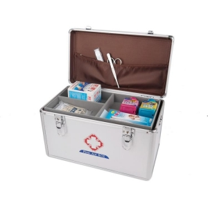 China Aluminum First Aid Case, Aluminum Medical Storage Box on sale