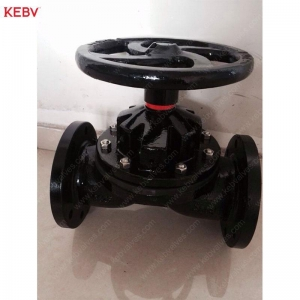 China Weir type Body lined FEP (PFA) Diaphragm Valve on sale