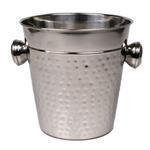 China Wine Chillers Wine Chiller Stainless Steel Hammered - 8 x 8.5 inches on sale