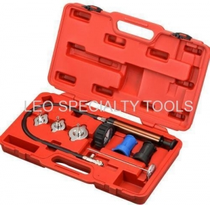 China 7pcs Cooling System Leakage Diagnosis Pressure Tester Kit on sale