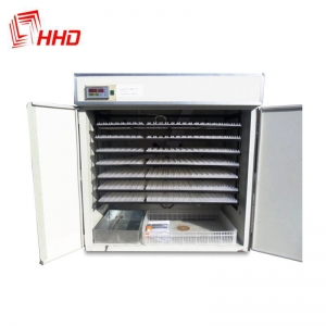 China HHD holding 1800 eggs make chicken egg incubator for sale philippines YZITE-14 on sale