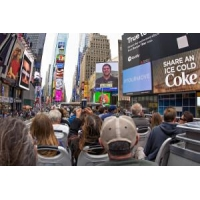 China New York Sightseeing Bus Tour Above The Crowd on sale