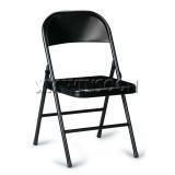 China Cheap Black Heavy Duty Metal Folding Chairs AC0090 on sale