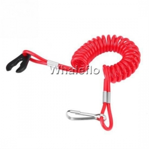 China Whaleflo Lanyard Kill Cord Outboard Motor Engine Kill Cord Safety Lanyard Emergency Stop for yamaha on sale