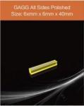 GAGG(Ce) scintillation crystal (63) GAGG-Scintillator-6x6x40mm