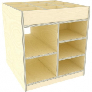 China Kids art material storage cabinet on sale