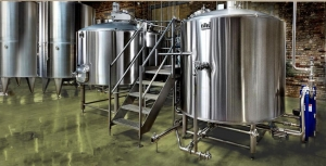 China The saccharification system of beer is made up of saccharifying pan, gelatinized pot, filter tank on sale