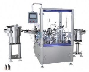 China Mascara Filling and Plugging And Capping Machine on sale