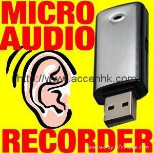China Voice Activated 4GB Micro USB Audio Recorder Spy Hidden Digital voice Recorder on sale