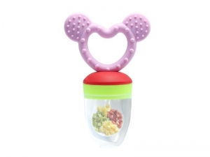 China silica gel fruit baby teething toys,silicone cute chew bayi supplier on sale