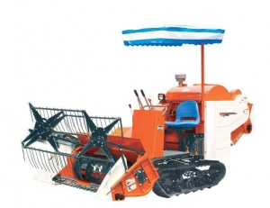 China Small Rice and Wheat Combine Harvester 4lz-1.0 for Sale on sale