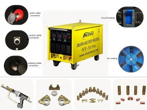 China Thyristor Drawn Arc Stud Welding Equipment on sale