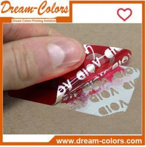 China Custom Printing Hologram Tamper Evident VOID Label Sticker on sale