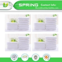 China Infant Baby Waterproof Crib Mattress Pad Standard Cribs Hypoallergenic on sale