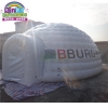 China large outdoor inflatable igloo, white inflatable canopy tent bubble igloo for sale for sale