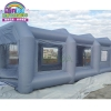 China Hot sale mobile inflatable paint booth inflatable spray booth for car cover for sale