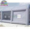 China Portable PVC Inflatable Car Painting Spray Booth Garage Tent for sale