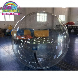 China Inflatable Water Walking Ball Inflatable Human Zorb Hamster Balloon Running Water Bubble Ball on sale
