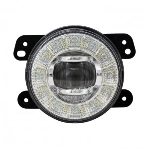 China 90mm LED DRL Fog Light With Halo Ring For Nissan Honda Renault on sale
