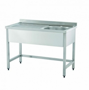 China Stainless Steel Fabrications BE1N - 2N Sink Unit without baseshelf on sale
