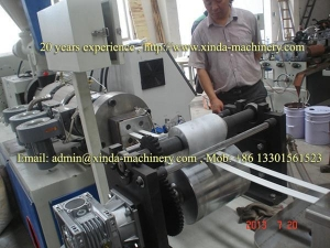 China pvc edge banding making machine on sale