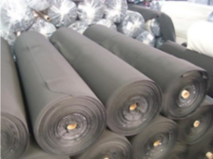 China polyester/nylon fabric neoprene rubber SBR CR sheet for wet suit, shoes, diving on sale