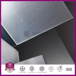 China Polycarbonate Sheet Polycarbonate Clear Plastic Sheet PC Frosted Pattern Panel on sale