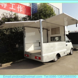 China mini mobile food truck for sale in china on sale