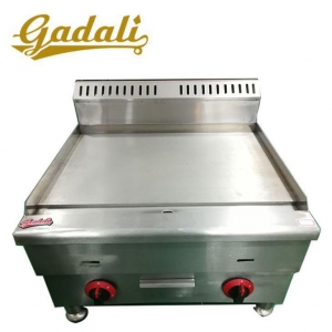 China Fast Food Restaurant Stainless Steel Kitchen Equipment Counter Top Gas Griddle on sale