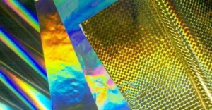 China Bopp Thermal Transparent Holographic Lamination Film on sale