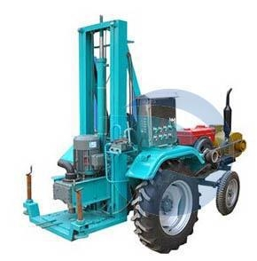 China Tractor Mounted Water Well Drilling Rig on sale