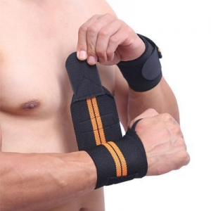China weight lifting wrist wraps support on sale