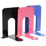 Big size 9 inch Black Color High Quality Libray ,office use book organizer Metal book stands
