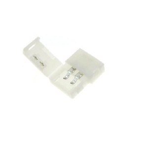 China 8mm 10mm 12volt 2Pin 3Pin 4Pin 3528 single color solderless led connector on sale