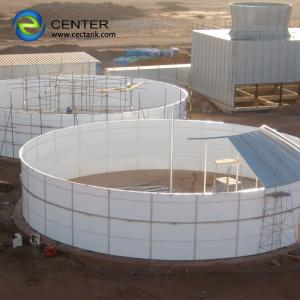 China 200 000 Gallon Drinking Water Storage Tanks Impact Resistance on sale