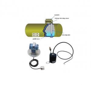 China Gas petrol station double layer tank and pipe fuel oil water leak detection sensor Leakage detector on sale