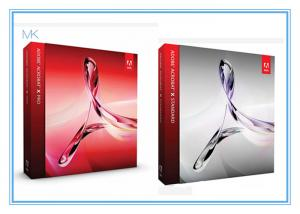 China Adobe Acrobat Xl Pro Standard Crackedgraphic Designer Software Photoshop Cs6 Extended on sale