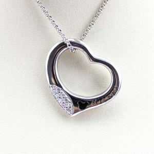 China Women Jewelry 925 Silver Heart Pendant Pave White Cubic Zirconia(KP03) on sale