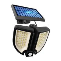 China Split Outdoor Waterproof 300Lm Solar Powered LED Wall Light on sale