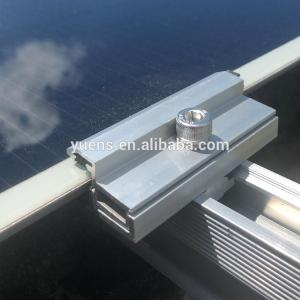 China Best Seller China Solar Thin Film Clamps For Double Glass Solar Panel Solar Panel on sale