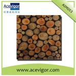 Random arrange wood mosaic wall tiles