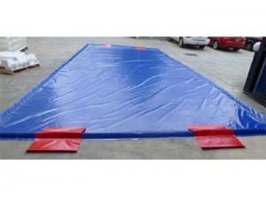 China Special Inflatable Car Wash Mat Superior Soft PVC Tarpaulin on sale