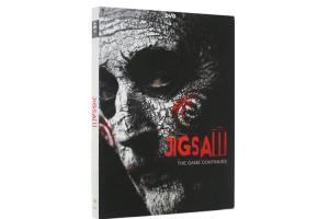 China New Release Jigsaw The Game Continues Series 8 DVD Movie Horror Movie Film DVD Wholesale on sale