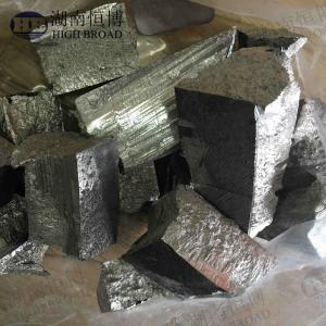 China MgZr10 MgZr25 Mg30Zr Mg35Zr Magnesium Master Alloy Metal Ingots Surface Silver on sale