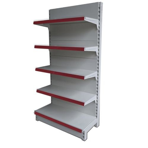 Well-known Double Sided Metal Supermarket Shelf Store Retail Fixture Shop  TY92