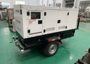 China Yuchai Emergency Diesel Generator Outdoor Trailer Type Genset Price List on sale