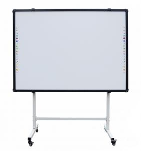 China whiteboard--standard sizes of classroom 17 mm aluminium frame magnetic white board marker on sale