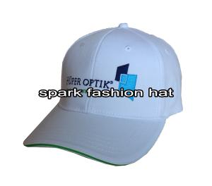 China Embroidered promotional flex fit baseball cap with curved visor on sale