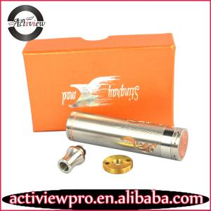 China 2014The unique design stingray mechanical mod best wholesale price on sale