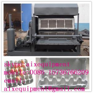 China waste paper recycled egg tray pulp molding machine on sale